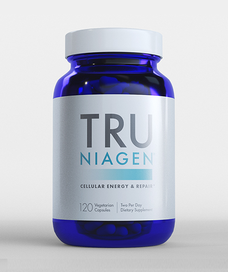 Tru Niagen 150mg 120 count Bottle Front