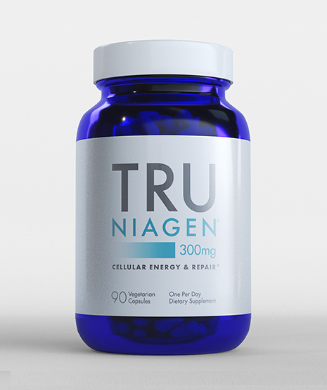 Tru Niagen 300mg 90 count Bottle Front