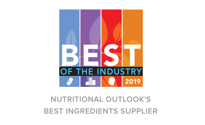 Nutritional Outlook Best Ingredients Supplier logo