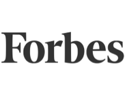 This is a logo for Forbes, a leading publication.
