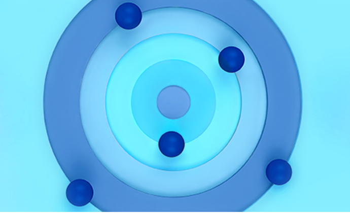 artistic diagram of a cell