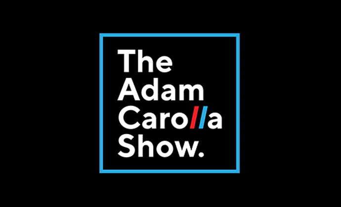 Logo of the adam carolla show