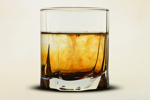 Whiskey in a Drinking Glass