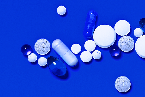 an assortment of mitochondrial supplements