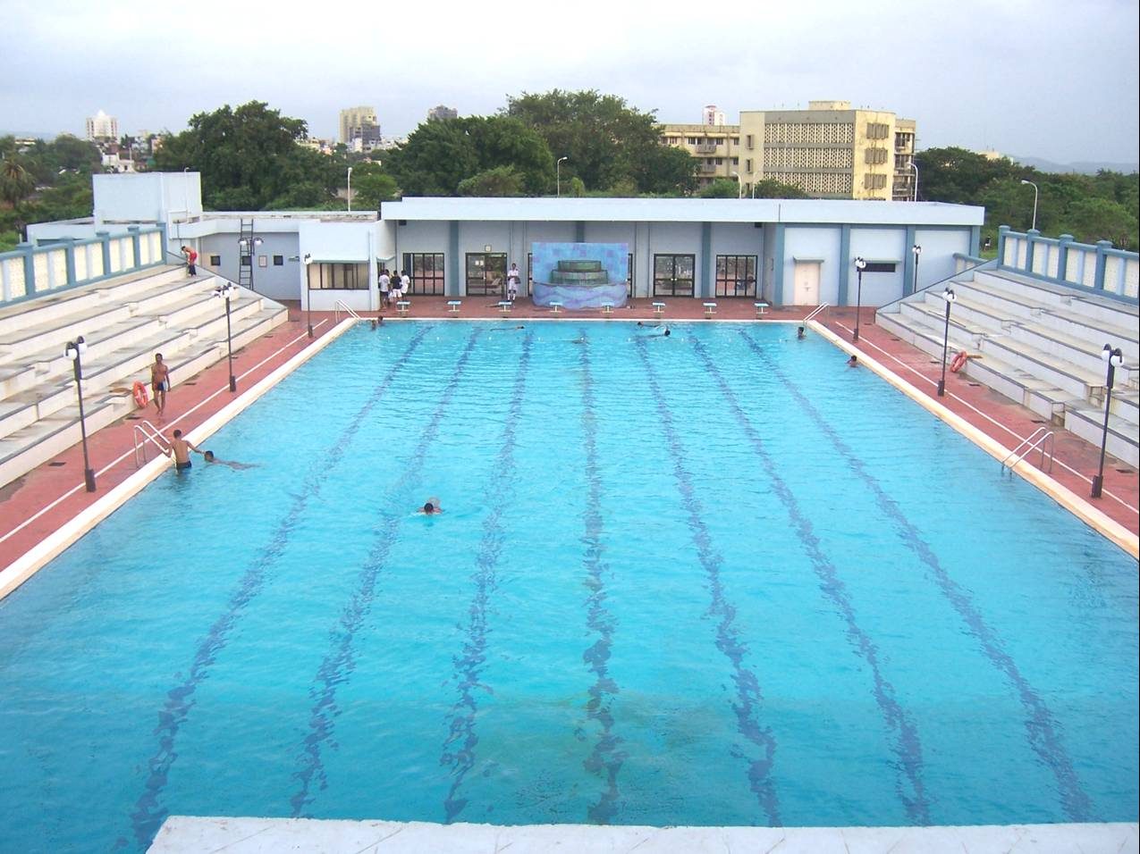 Swimming Pool T.S. Chanakya