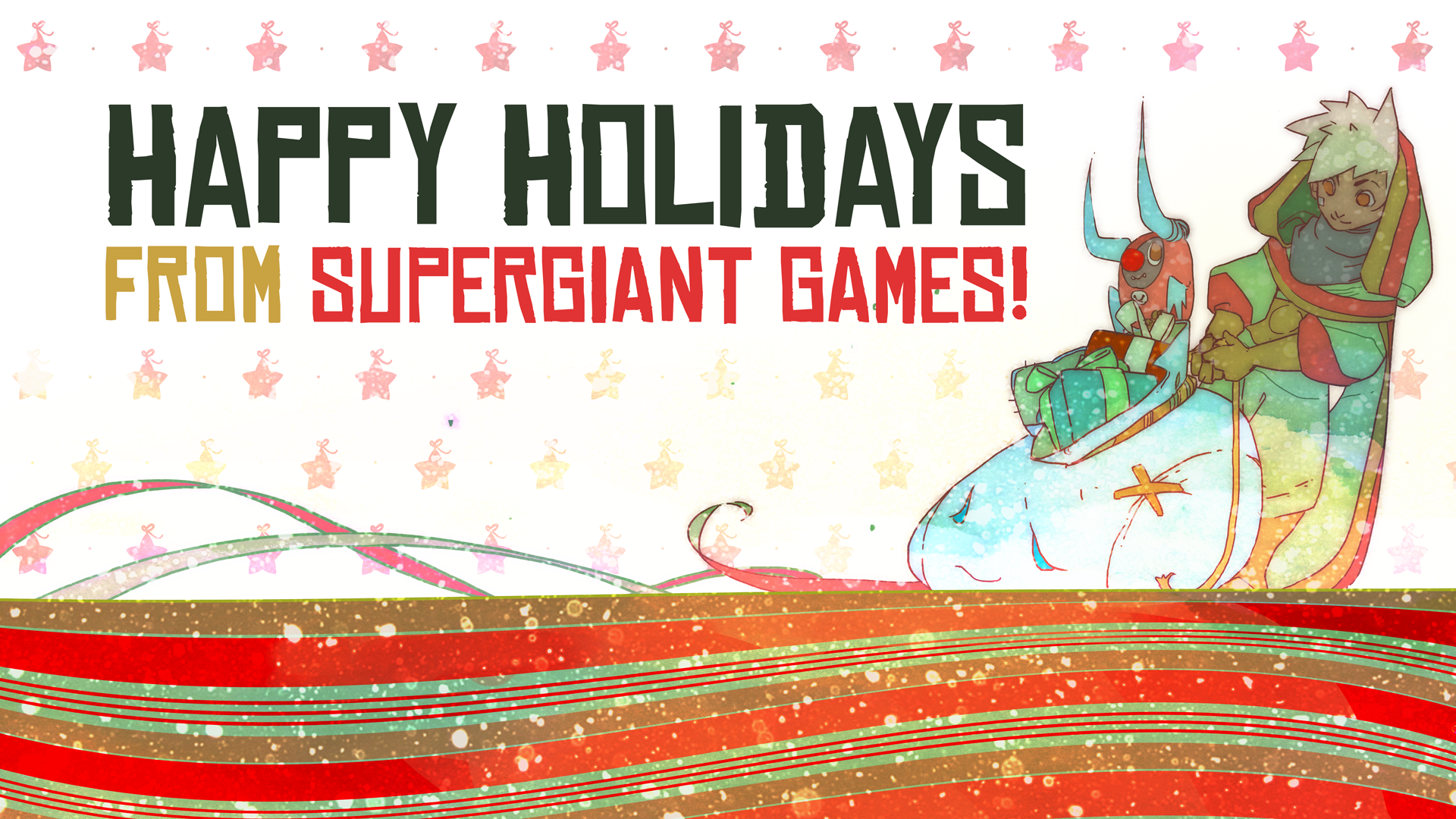 Happy Holidays From Supergiant Undefined
