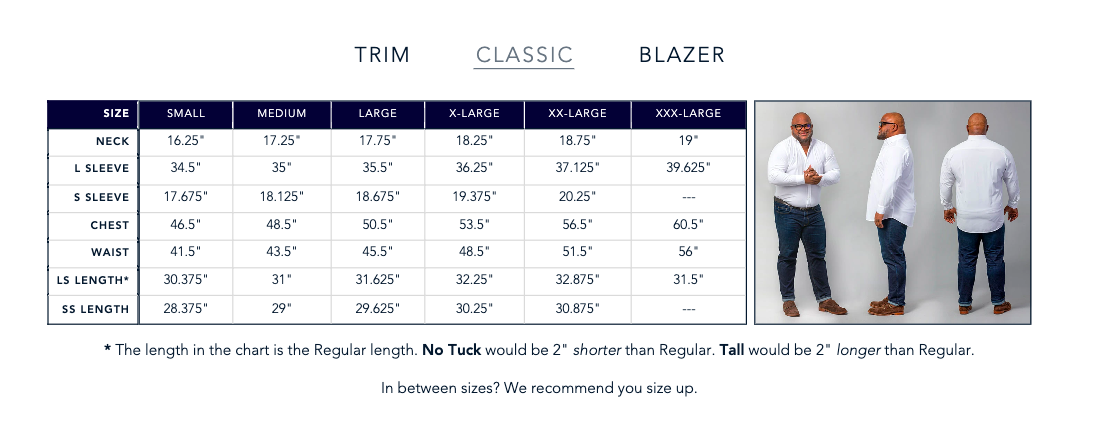 Mizzen + Main sizing guide