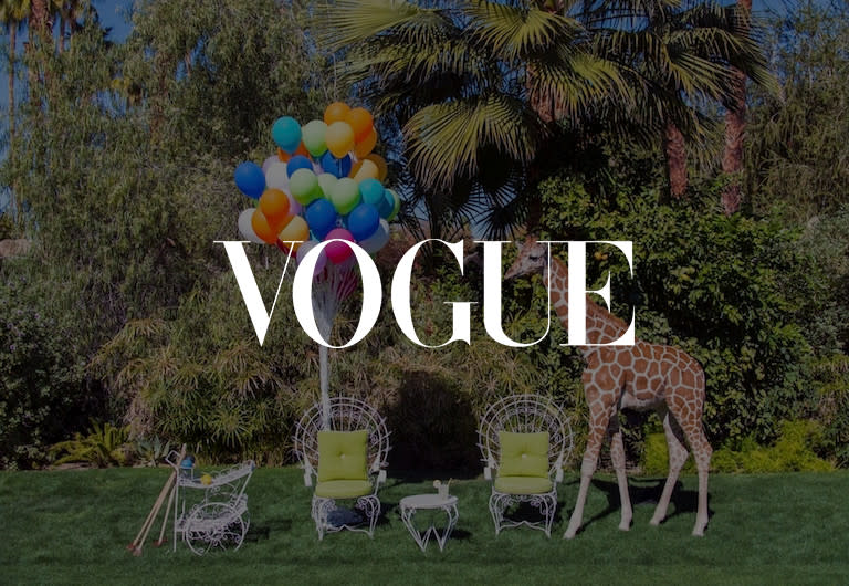 Vogue Magazine, click to see press clipping