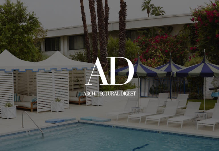 Architectural Digest, click to see press clipping