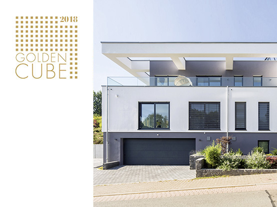 1. Platz beim Golden Cube Award