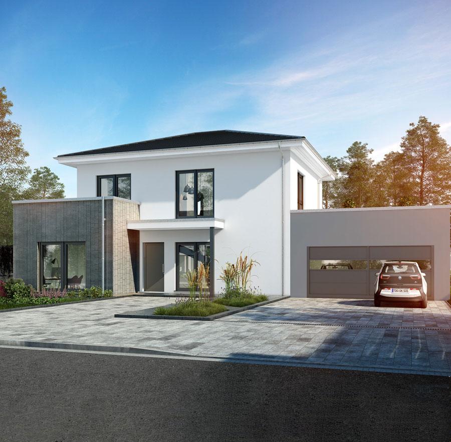 Okal for Stadtvilla zweifamilienhaus