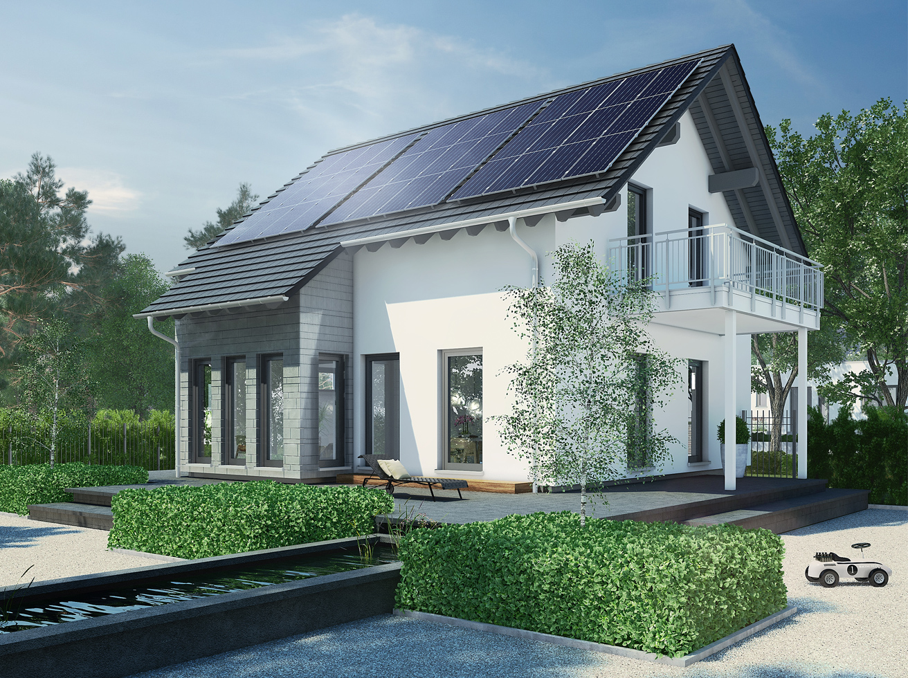 Solar-Hauskraftwerk