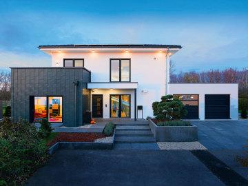 Haus Walmdach Modern Free Stadtvilla Mit Anbau Basis Stadtvilla