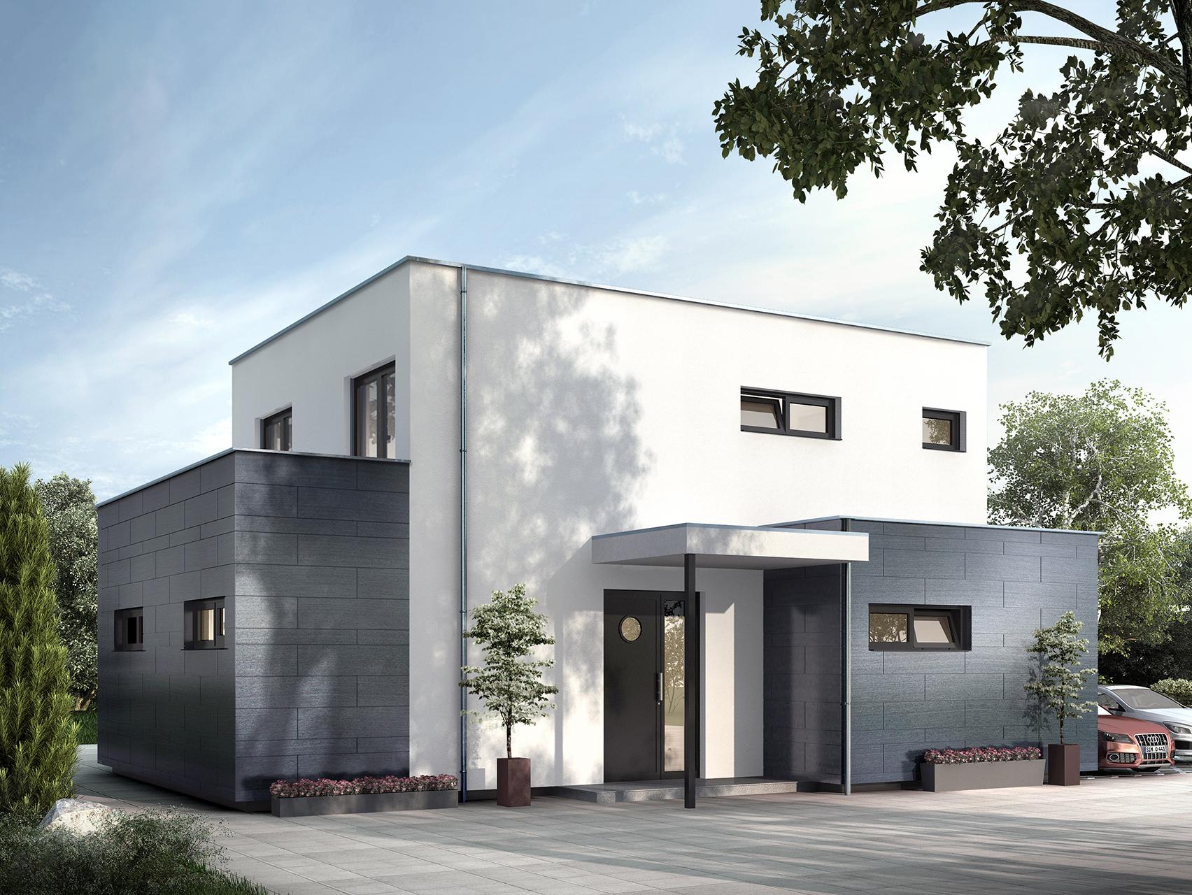 Fertighaus kubus cool haus kubus mit with fertighaus for Kubus haus bauen