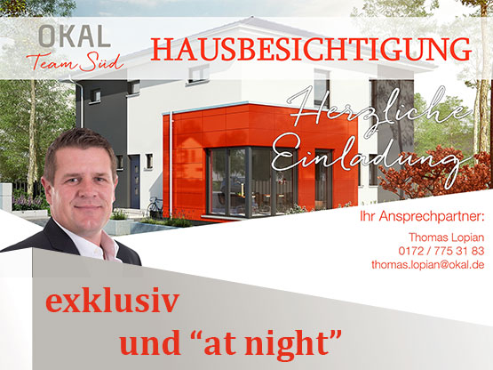 Hausbesichtigung in Donaueschingen