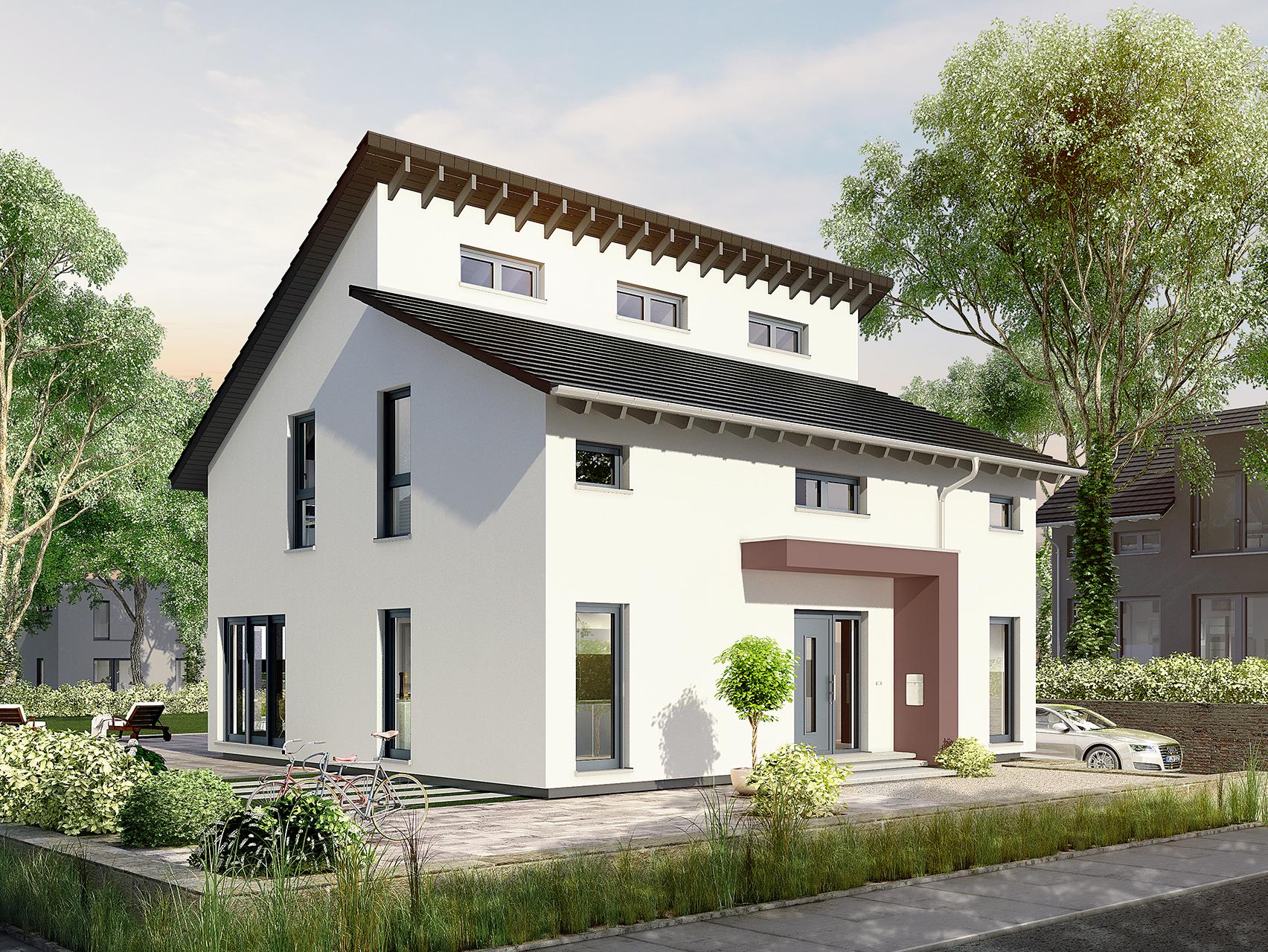 Elegant Häuser Mit Pultdach Sammlung Von