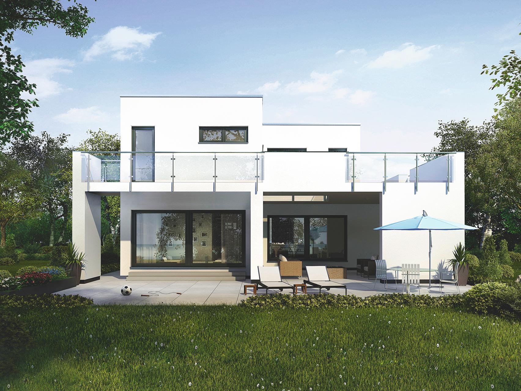 Brilliant Haus Mit Flachdach Ideen Von