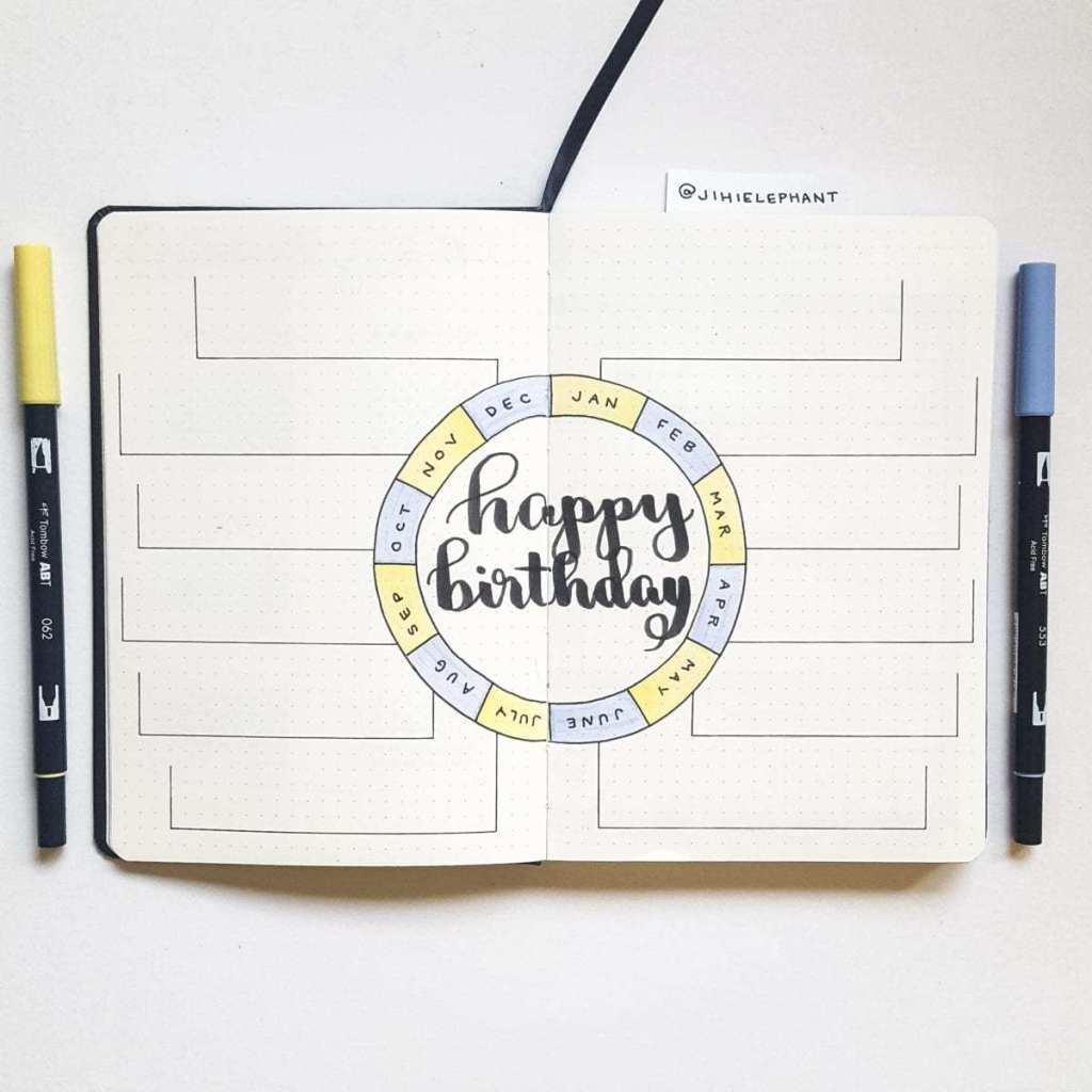 yellow periwinkle birthday track Kathryn