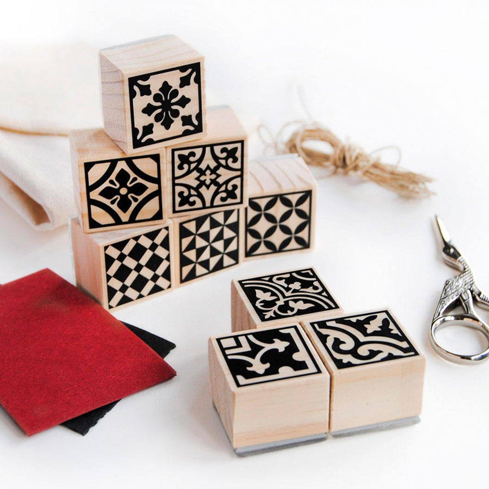 Moroccan Tile Stamp Set