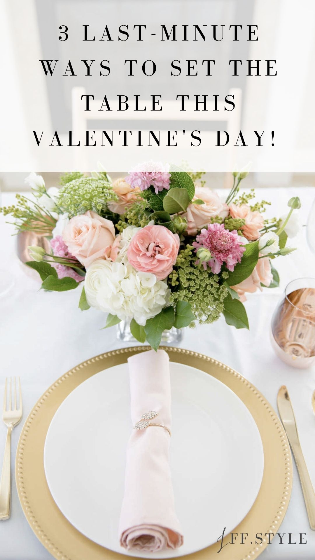 Pinterest Pin-3 Last-minute ways to set the table this Valentine's Day