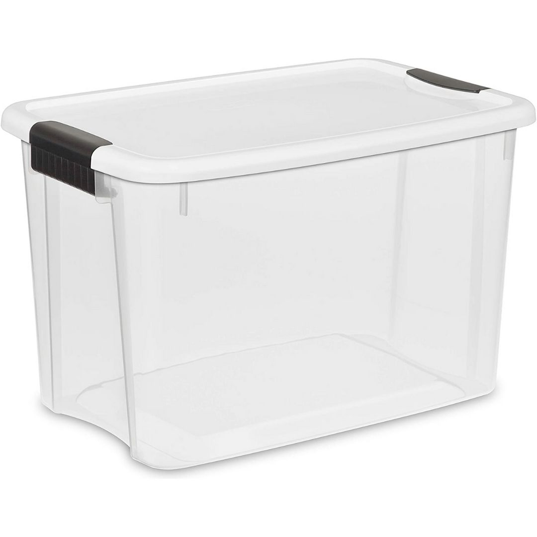 HD-Backyard Plastic storage bins with lid