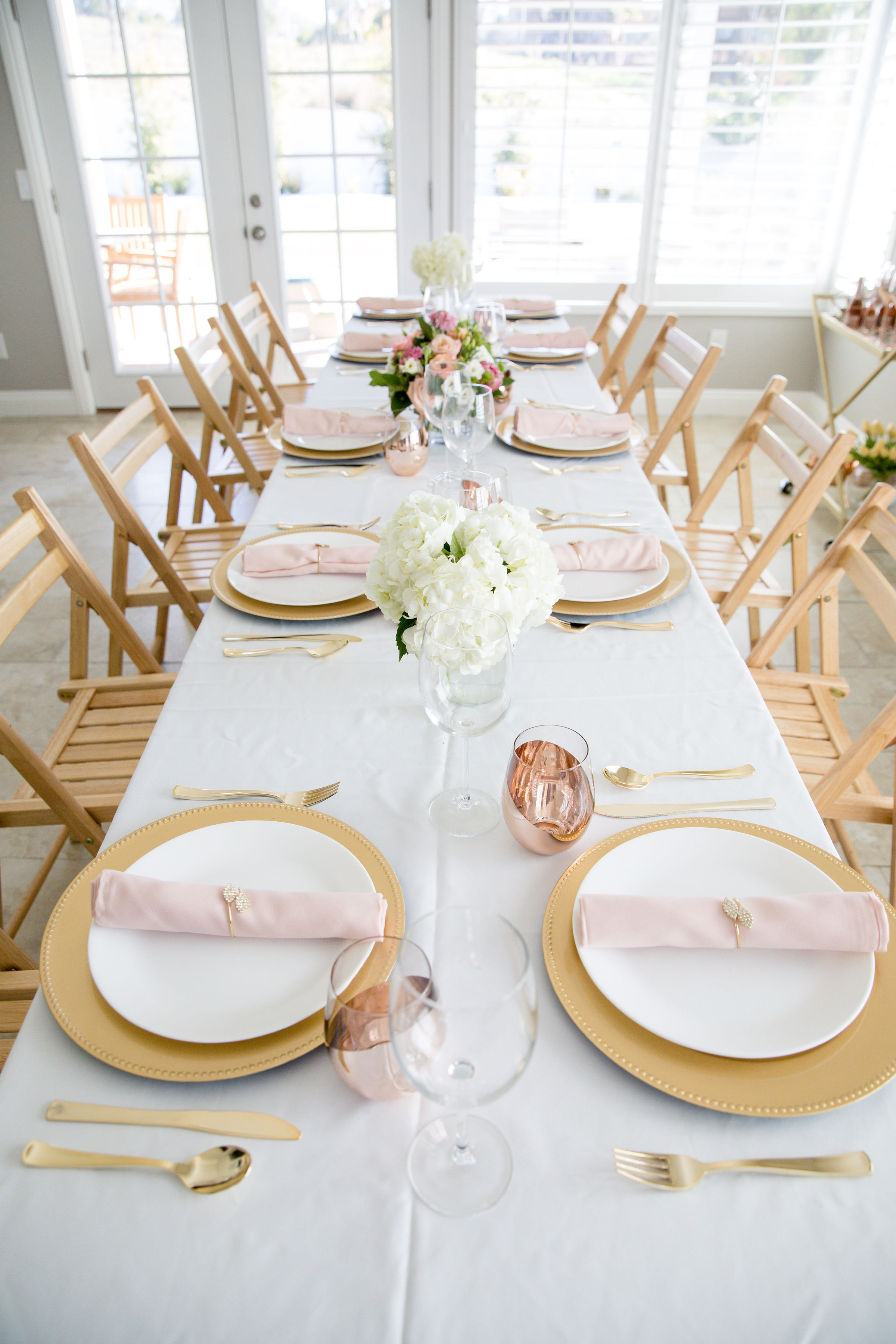 HD-Events Decor-Bridal Galentines Valentines Tabelscape Bridal Shower Baby Shower Baptism Brunch Blush Pink 3
