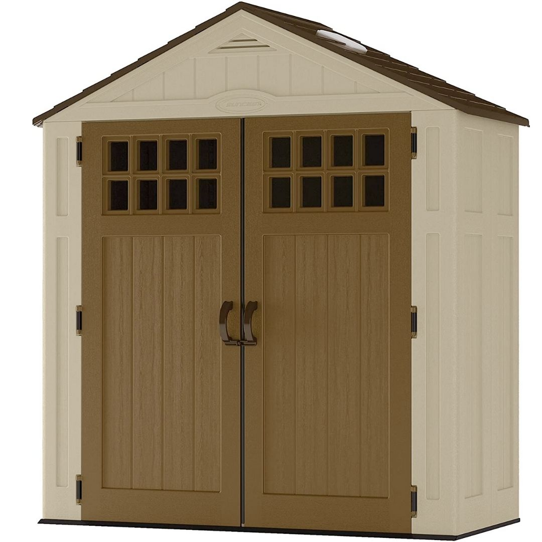 HD Backyard-Outdoor storage shed for toys