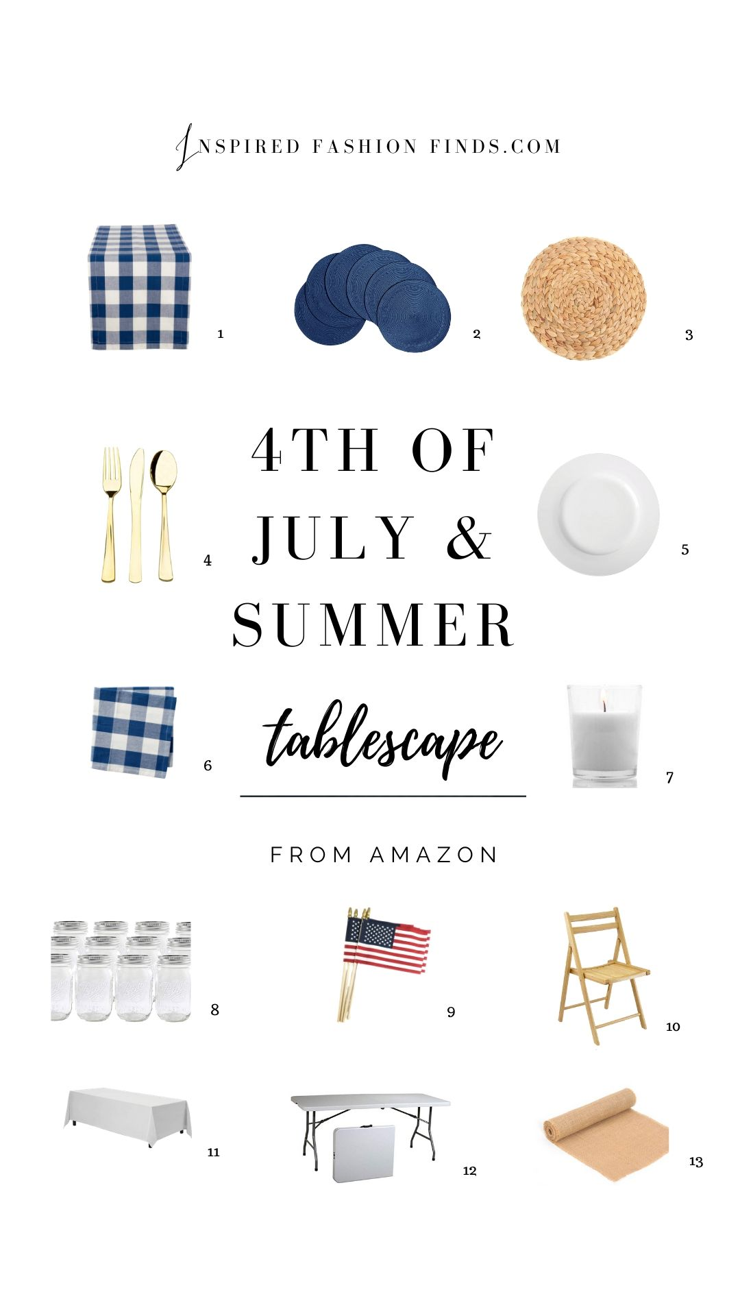4th of July Pinterest Pins