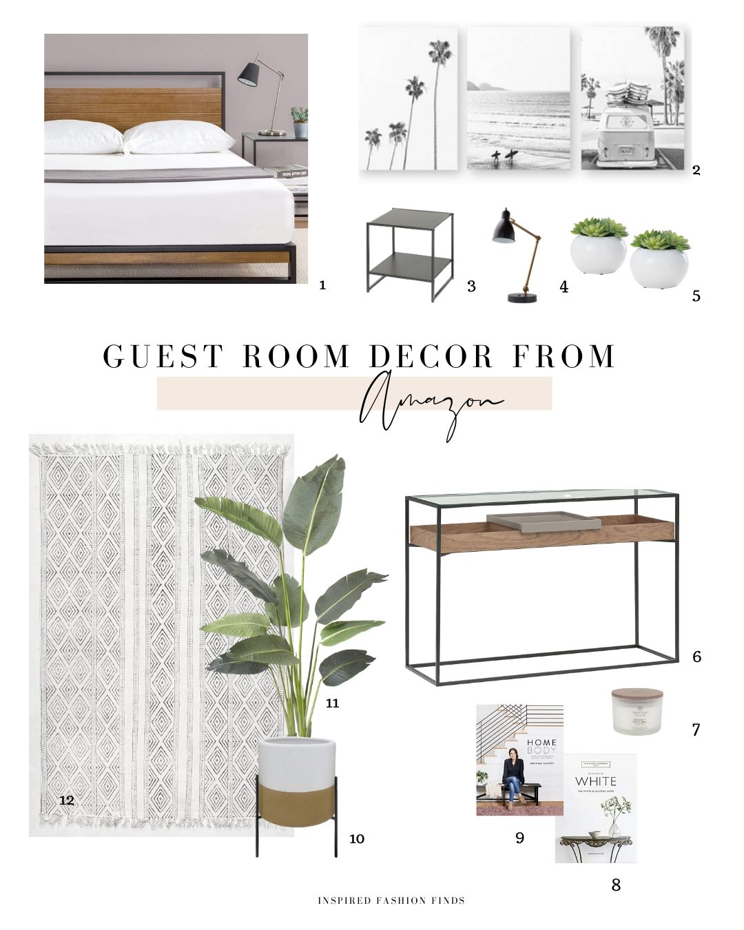 HD-Guest Room Mood Board with numbers