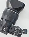 systemkamera med objektiv
