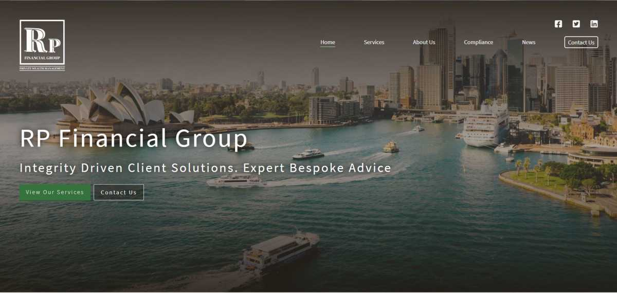RP Financial Group desktop screenshot