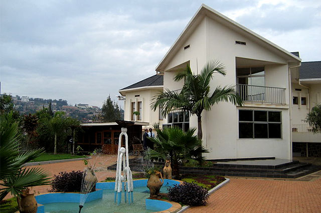 Exterior of the Genocide Memorial Centre in Kigali