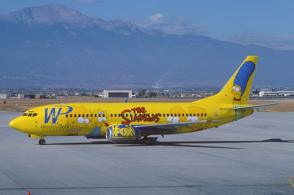 The Simpsons Plane