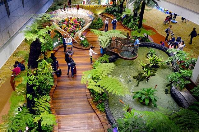 Inside Singapore Changi Airport
