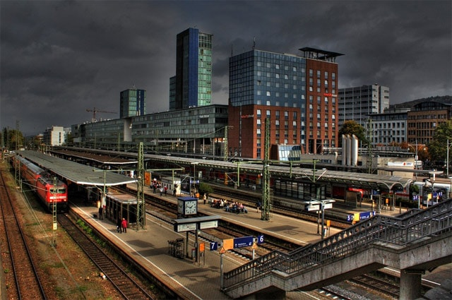 German Train Station