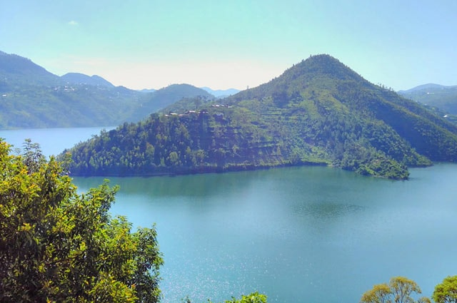 View of Lake Kivu