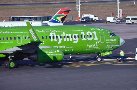 Kalula Airlines Flying 101 Plane