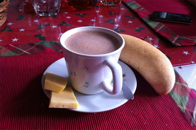 Hot Chocolate & Cheese
