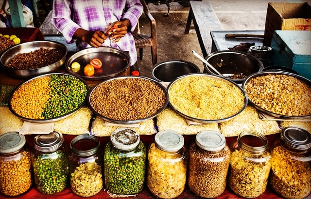 street food, spices
