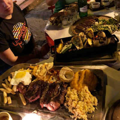 Local Keto-friendly Restaurant Food in Buenos Aires