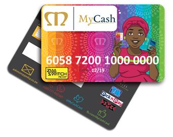 Meikles MyCash card