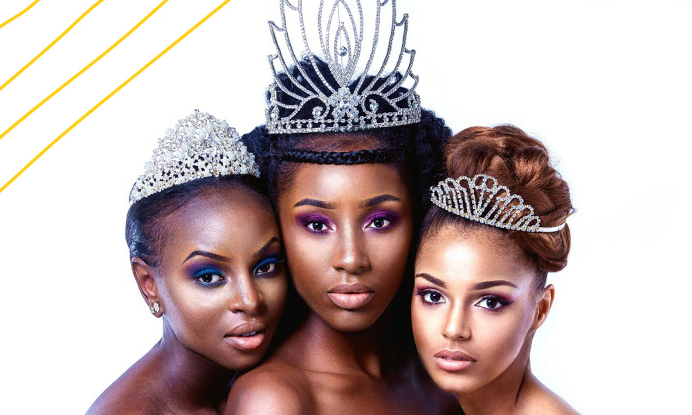 Christiane Sungu and Lucrese Legacy on a beuaty pageant Congolese beauty in the United Kingdom