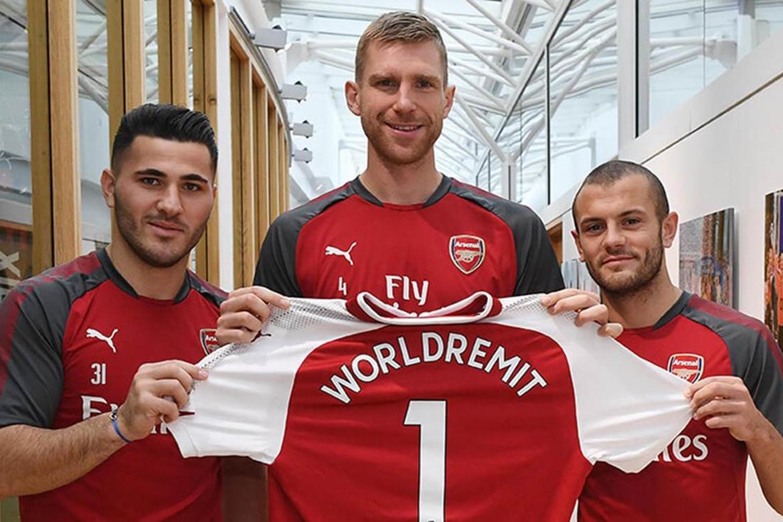 WorldRemit devient service d'envoi d'argent en ligne partenaire officiel du club d'Arsenal