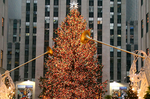 Christmas at the Rockefeller Plaza