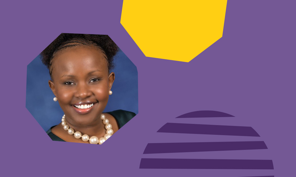 "Sharon Kinyanjui of WorldRemit as a successful woman in tech ""A"