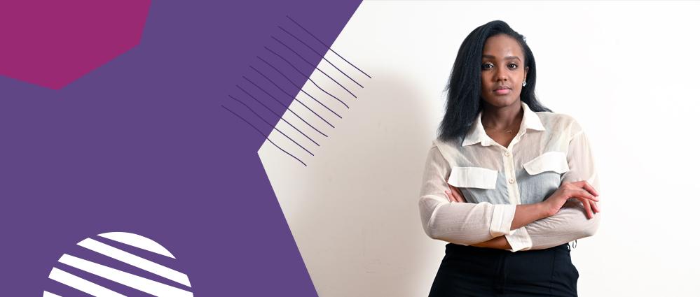 Kenyan entrepreneur Njeri Muhia portrait short