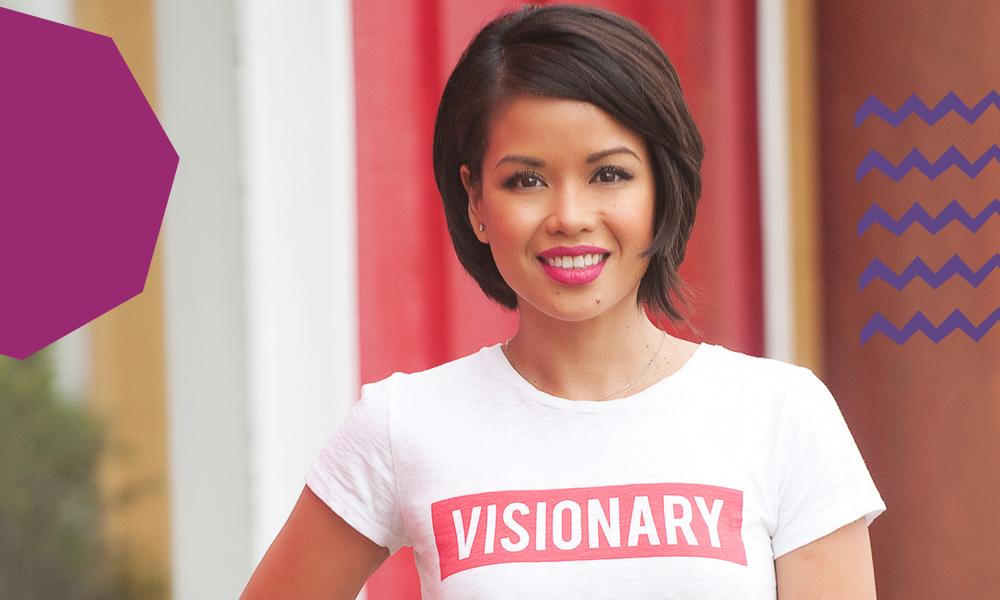 "A headshot of Anya David an influential Filipino""A"