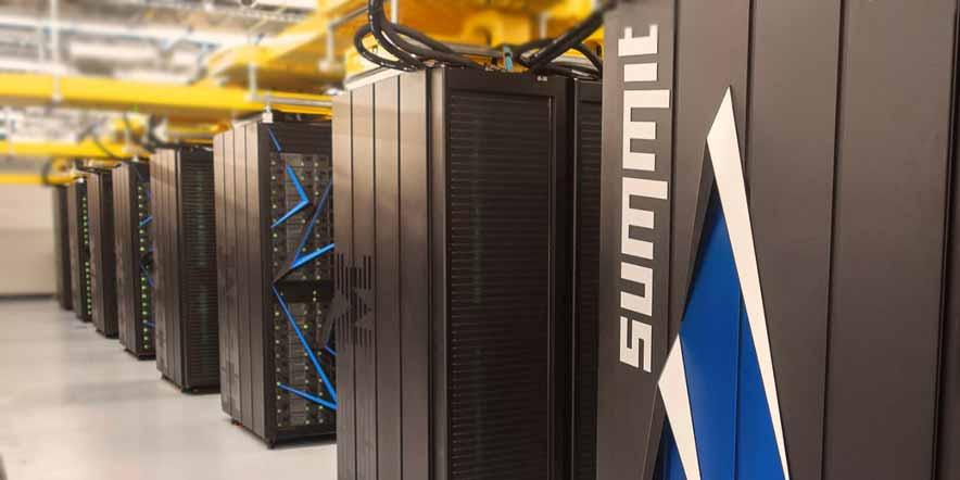 Dünyanın en hızlı süper bilgisayarı summit