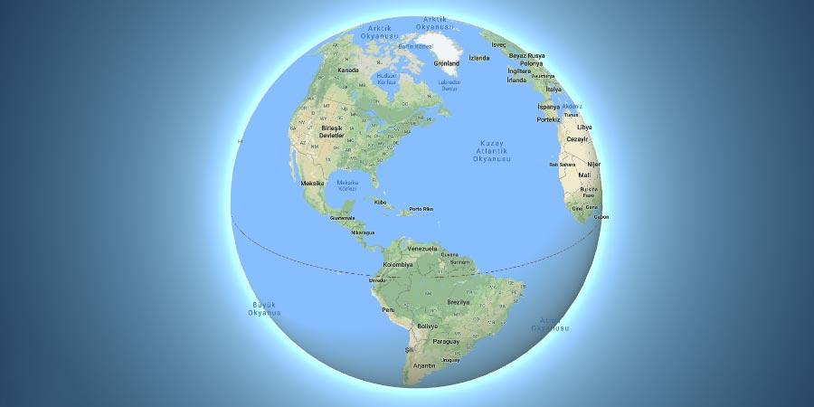 Kuzey Amerika – Güney Amerika – Orta Amerika Ülkeleri