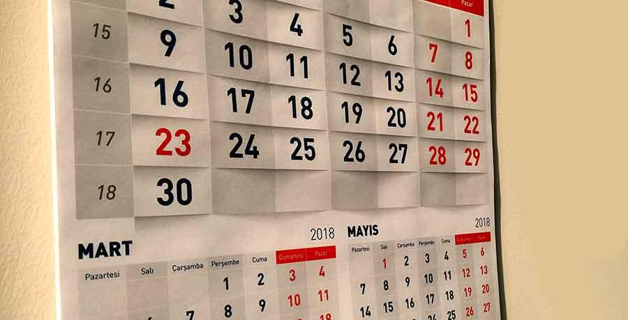 2018 yılı resmi tatiller kaç gün?